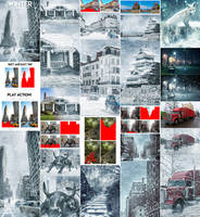 Winter Photoshop Action by GraphicAssets