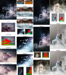 Gif Animated Fog Photoshop Action by GraphicAssets