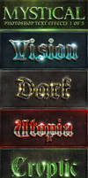 Mystical PS Text Effects 1 of 5