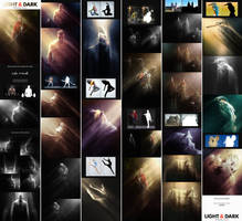 Light and Dark - Photoshop Actions by GraphicAssets