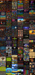 Game Assets Collection 01 - Icons,Characters