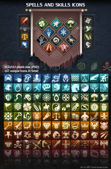 Spells and Skills Icons