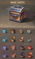 Magic Chests by GraphicAssets