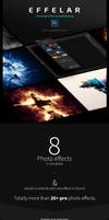 Effelar Photo Effects for Photoshop by GraphicAssets