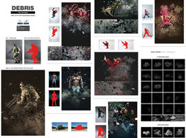 Debris by GraphicAssets