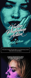 Vector Photoshop Action by GraphicAssets