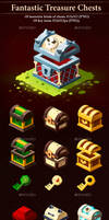 Fantastic Treasure Chests by GraphicAssets