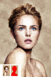 Oil Painter CS4+ Photoshop Action by GraphicAssets