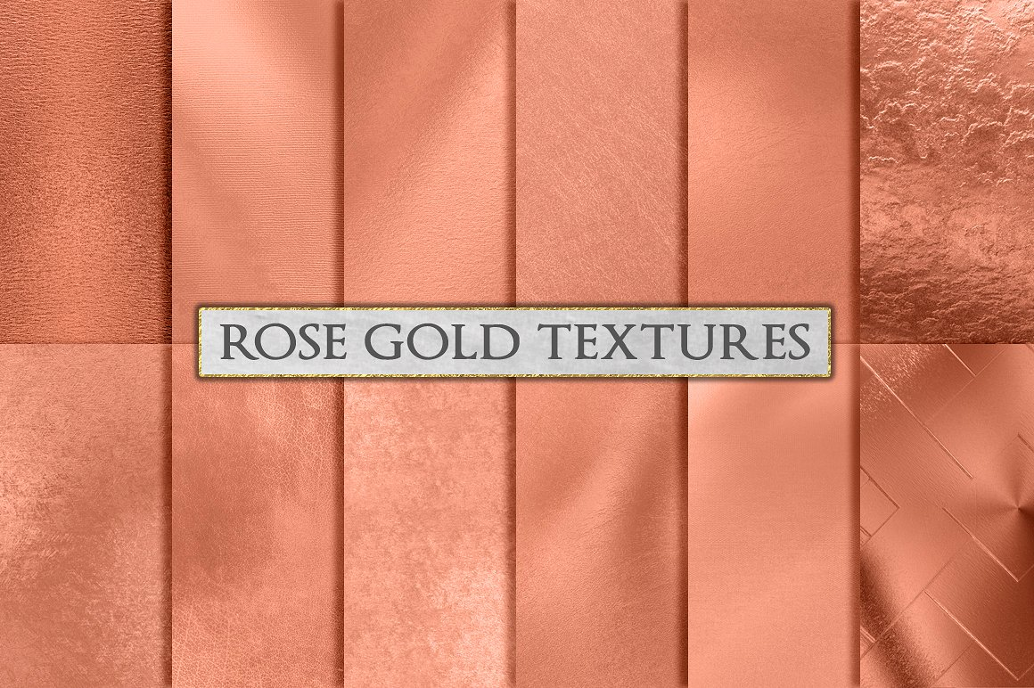 Rose Gold Foil Background Textures by GraphicAssets on DeviantArt