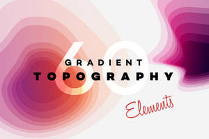 Gradient Topography collection by GraphicAssets