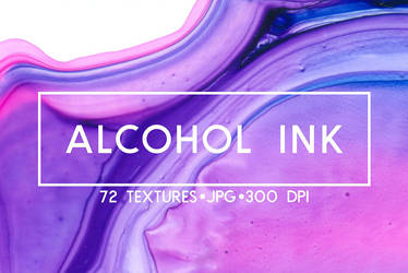 Alcohol ink texture pack