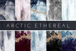 Abstract Watercolor Foil Textures