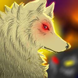 Sorawolfkiba Kiriban by Wolven-Empress