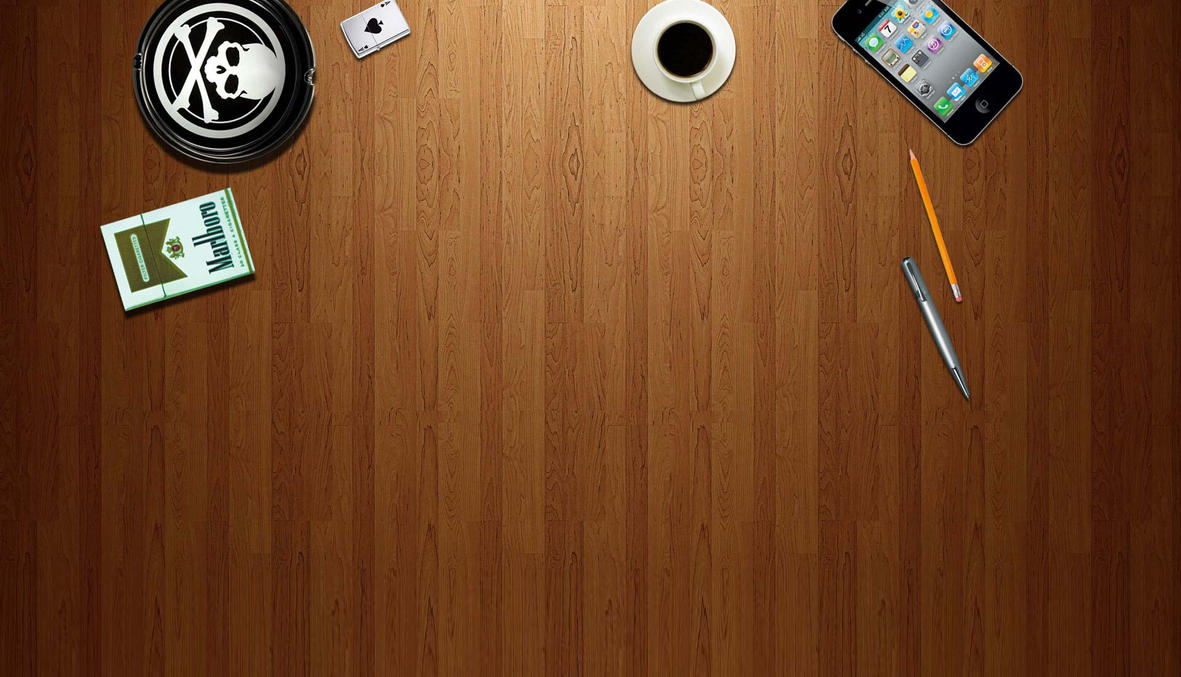 background desk wood texture objects scratch by archibald