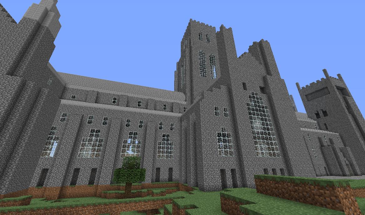 Minecraft Durham Cathedral - Side 2 by PTSnoop on DeviantArtMinecraft Stone Wallpaper