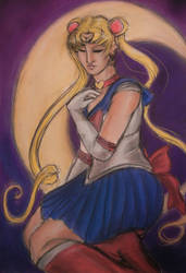 Sailor Moon in Pastels