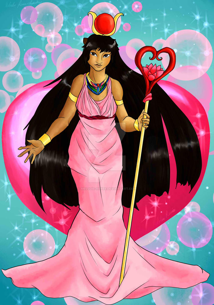 Hethert: Goddess Of Love And Joy By Melodie-Renee On