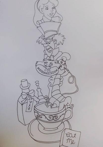 Alice In Wonderland Design Ideas