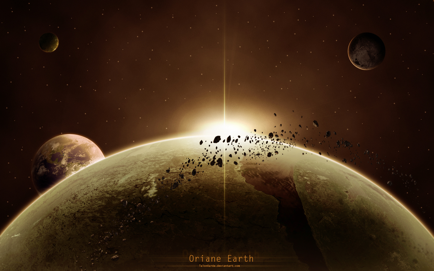 Oriane Earth by TalonKarde