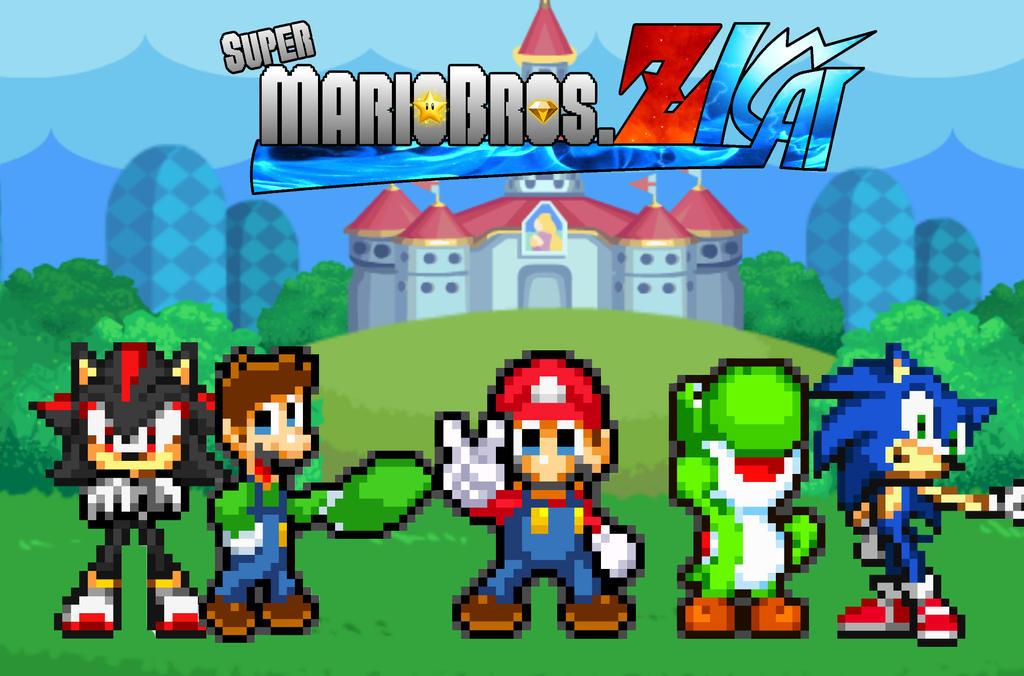 Super Mario Bros Z Kai By Slgq4 On Deviantart
