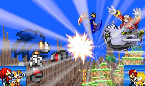 Sonic Mania Day 3 Part 2 Eggman's Defeat