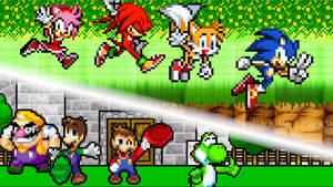 Mario and Sonic Classic Adventures