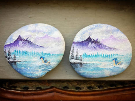 Painted Lapras Rocks