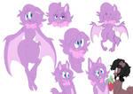 bat doodles commission
