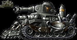 Quinto Jefe Metal Slug by AlbertoV