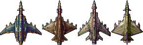 Four Spaceship