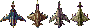 Four Spaceship by AlbertoV