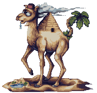 Pyramid Camel by AlbertoV