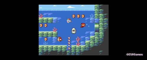 Super Mario Bros Remake by AlbertoV