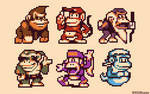 A bunch of apes!