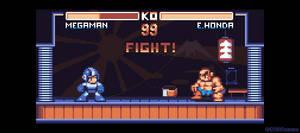Megaman x Street Fighter by AlbertoV