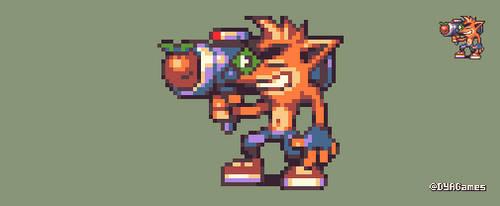 Crash Bandicoot by AlbertoV