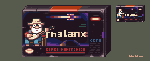 Phalanx Game Cover and Box by AlbertoV