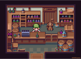 Liquor Store by AlbertoV