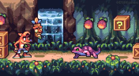 Crash Bandicoot! by AlbertoV