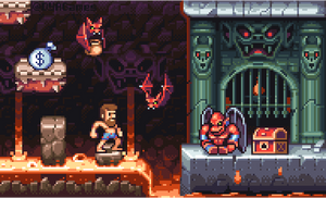 Ghosts 'N Goblins by AlbertoV