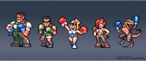 Videogame Boxers