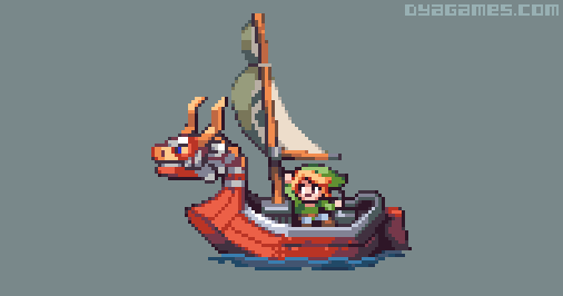 Zelda Wind Waker boat by AlbertoV