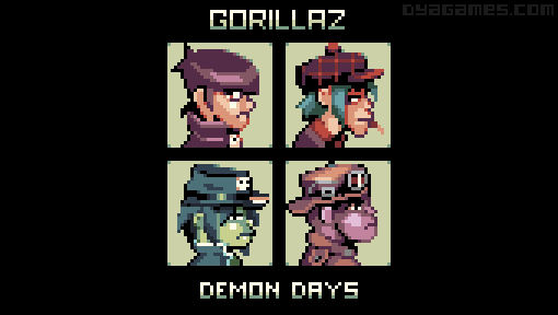 Demon Days by AlbertoV