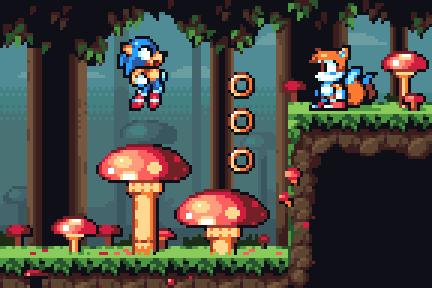 Mushroom Hill Zone by AlbertoV