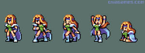 Celes from Final Fantasy 6