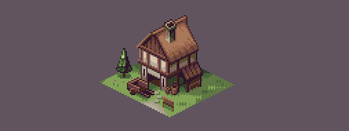 Isometric House by AlbertoV