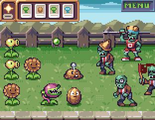 Plants vs Zombies by AlbertoV
