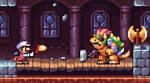 Supar Mario Bros - Mario vs Bowser
