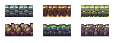 Pixel Art - Tiles by AlbertoV