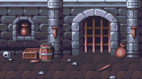 Pixel Art - Dungeon Background (Loopable) by AlbertoV